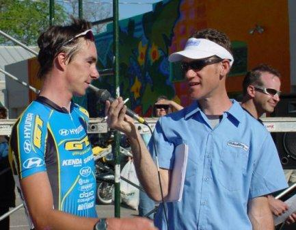 John interviews 2005 Tour of the Gila criterium winner Todd Wells (GT/Hyundai)